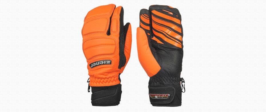 Rukavice Ziener Galos lobster glove race orange 1d6886e5fe
