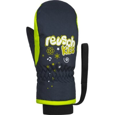 Reusch rukavice Kids Mitten dress blue/safety yellow
