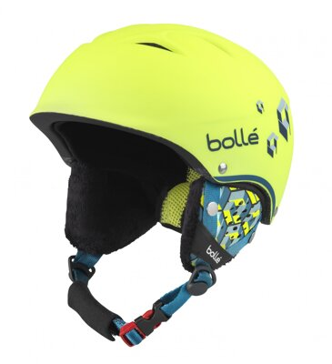 Helma Bollé B-Free Soft Neon Yellow Blocks 17/18