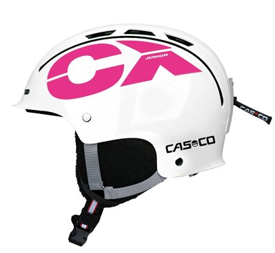 Helma Casco CX-3 junior bílá
