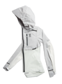 Bunda ON running Weather-Jacket W grey/white