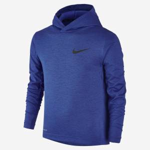 Mikina Nike Dri-FIT Hooded Boys' Training Shirt 724399-480