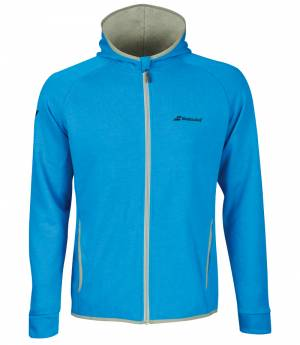 Babolat core hood sweat boy blue