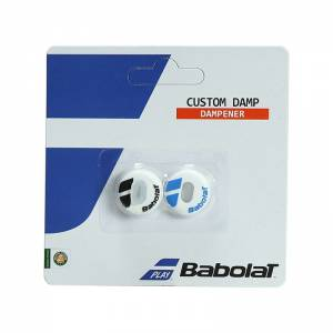 Babolat Custom Damp X2 White Blue
