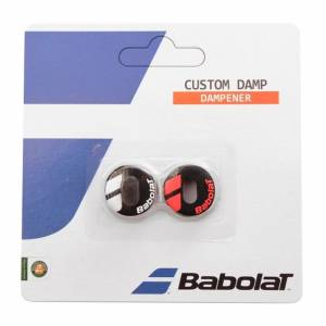 Babolat Custom Damp X2 Black Fluo Red